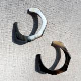 Ohrstecker aus Horn