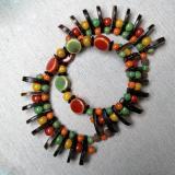 Ngorongoro - aufwändiges Spiralarmband
